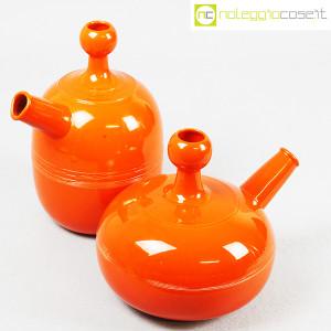 Ceramiche Franco Pozzi, caraffe arancione, Ambrogio Pozzi (4)