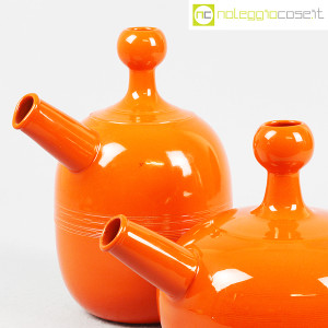 Ceramiche Franco Pozzi, caraffe arancione, Ambrogio Pozzi (6)