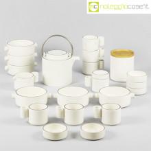 Ceramiche Pozzi set da tè Alto Basso