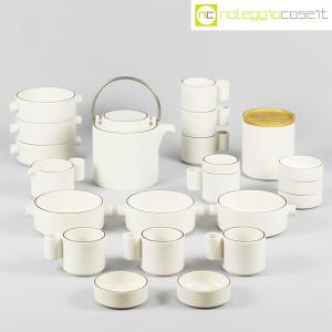 Ceramiche Franco Pozzi, set da tè serie Alto Basso, Ambrogio Pozzi (1)