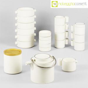 Ceramiche Franco Pozzi, set da tè serie Alto Basso, Ambrogio Pozzi (3)
