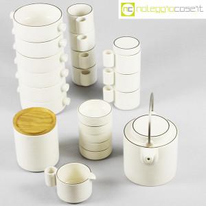 Ceramiche Franco Pozzi, set da tè serie Alto Basso, Ambrogio Pozzi (4)