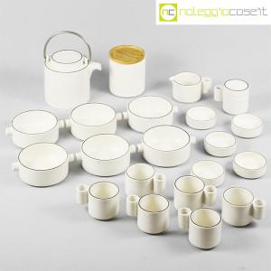 Ceramiche Franco Pozzi, set da tè serie Alto Basso, Ambrogio Pozzi (5)