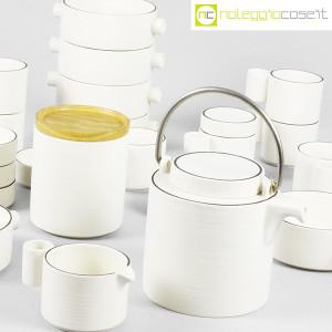 Ceramiche Franco Pozzi, set da tè serie Alto Basso, Ambrogio Pozzi (6)