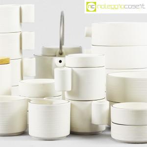 Ceramiche Franco Pozzi, set da tè serie Alto Basso, Ambrogio Pozzi (7)