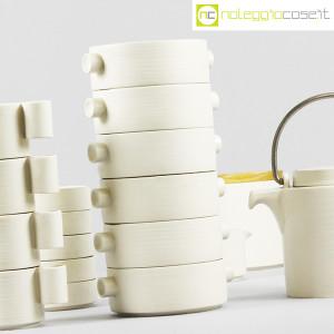 Ceramiche Franco Pozzi, set da tè serie Alto Basso, Ambrogio Pozzi (8)