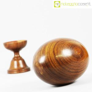 Uovo grande in legno con base (5)
