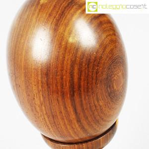 Uovo grande in legno con base (8)