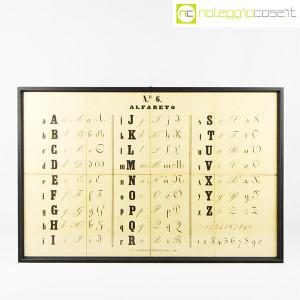 Alfabeto, tavola didattica (1)