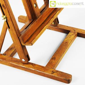 Cavalletto vintage per pittore (da tavolo) (5)