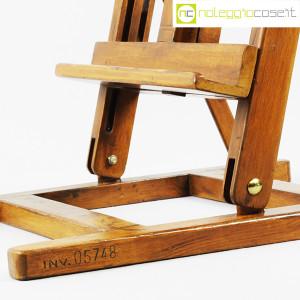 Cavalletto vintage per pittore (da tavolo) (9)