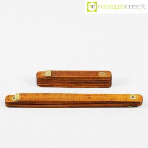 Metri pieghevoli vintage in legno (2)