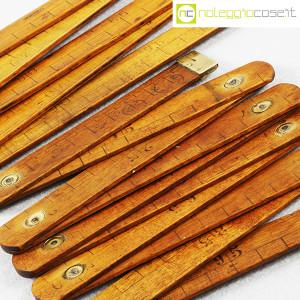 Metri pieghevoli vintage in legno (5)