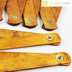 Metri pieghevoli vintage in legno (8)