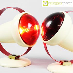 Philips, lampade Infraphil (struttura rossa) (5)