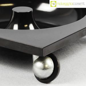 Renzo Mori Design, posacenere nero su ruote (7)