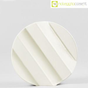 Sele Arte Ceramiche, vaso bianco tondo Zig-Zag (2)