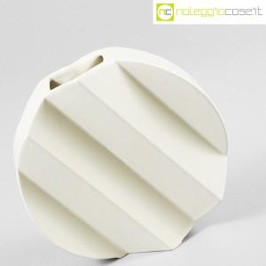 Sele Arte Ceramiche, vaso bianco tondo Zig-Zag (3)