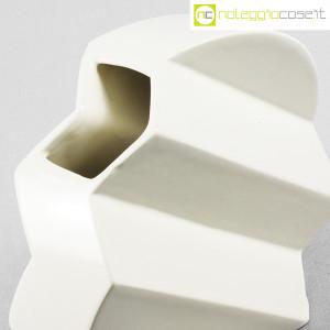 Sele Arte Ceramiche, vaso bianco tondo Zig-Zag (6)
