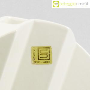 Sele Arte Ceramiche, vaso bianco tondo Zig-Zag (9)