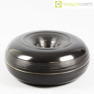 Ceramiche Bucci, grande centrotavola nero, Franco Bucci (1)