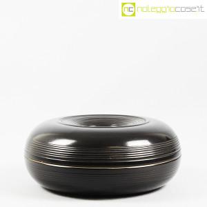 Ceramiche Bucci, grande centrotavola nero, Franco Bucci (2)