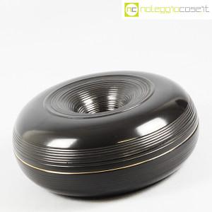 Ceramiche Bucci, grande centrotavola nero, Franco Bucci (3)