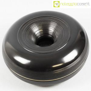 Ceramiche Bucci, grande centrotavola nero, Franco Bucci (4)