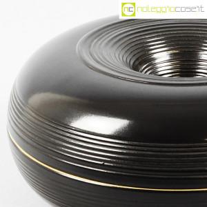 Ceramiche Bucci, grande centrotavola nero, Franco Bucci (7)