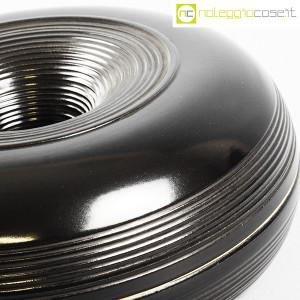 Ceramiche Bucci, grande centrotavola nero, Franco Bucci (8)