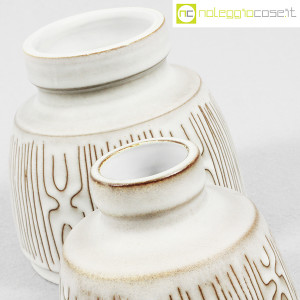 Ceramiche Franco Pozzi, coppia piccoli vasi con decori, Ambrogio Pozzi (7)