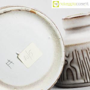 Ceramiche Franco Pozzi, coppia piccoli vasi con decori, Ambrogio Pozzi (9)