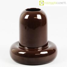 Ceramiche Franco Pozzi vaso marrone
