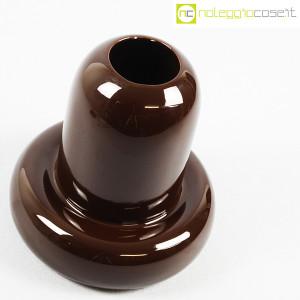Ceramiche Franco Pozzi, vaso in ceramica marrone, Ambrogio Pozzi (4)