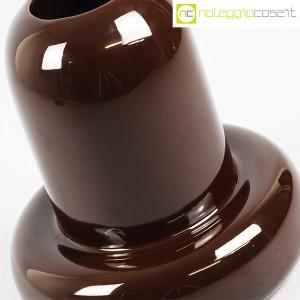 Ceramiche Franco Pozzi, vaso in ceramica marrone, Ambrogio Pozzi (5)