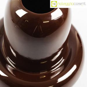 Ceramiche Franco Pozzi, vaso in ceramica marrone, Ambrogio Pozzi (8)