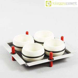 Mas Ceramiche, set tazze con vassoio, Massimo Materassi (1)