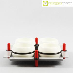 Mas Ceramiche, set tazze con vassoio, Massimo Materassi (2)