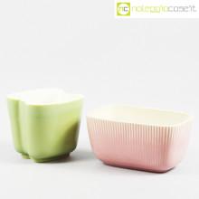 Richard Ginori vasi verde e rosa