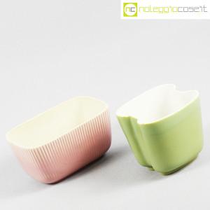 Richard Ginori, piccoli vasi verde e rosa (3)