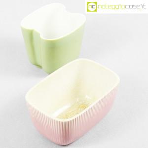 Richard Ginori, piccoli vasi verde e rosa (4)