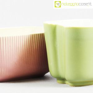 Richard Ginori, piccoli vasi verde e rosa (5)