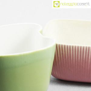 Richard Ginori, piccoli vasi verde e rosa (6)