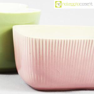 Richard Ginori, piccoli vasi verde e rosa (7)