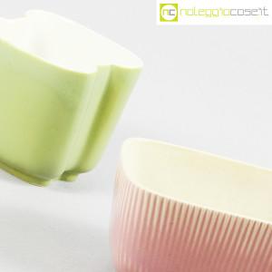 Richard Ginori, piccoli vasi verde e rosa (8)