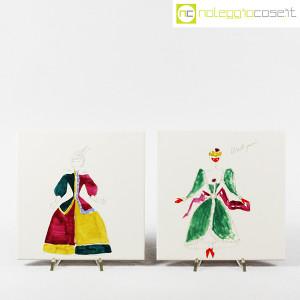 Baldelli Ceramiche, piastrelle con disegni Costumi, Gio Ponti (4)