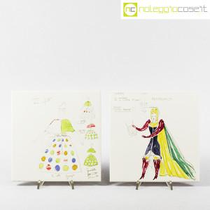 Baldelli Ceramiche, piastrelle con disegni Costumi, Gio Ponti (5)