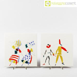 Baldelli Ceramiche, piastrelle con disegni Costumi, Gio Ponti (6)