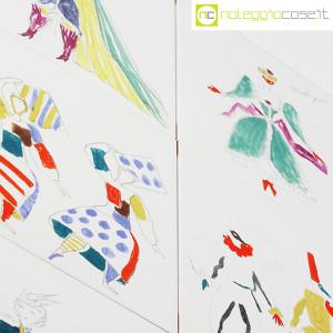 Baldelli Ceramiche, piastrelle con disegni Costumi, Gio Ponti (8)