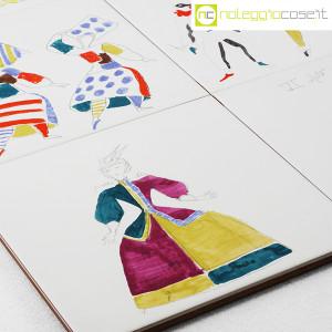 Baldelli Ceramiche, piastrelle con disegni Costumi, Gio Ponti (9)